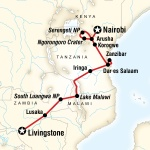 Victoria Falls and Serengeti Adventure