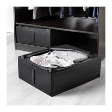 Ikea Skubb Underbed Storage Box, Black, 2 Pack