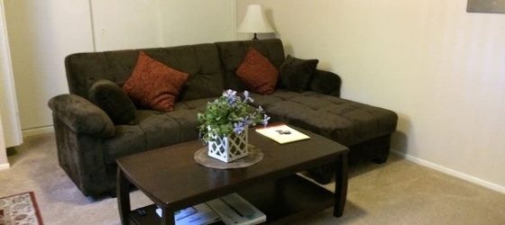 SUBLET FURNISHED 1 BEDROOM AND BATH