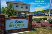 Save Green Self Storage- 3311 Enterprise Dr- Wilmington, NC (North Chase)