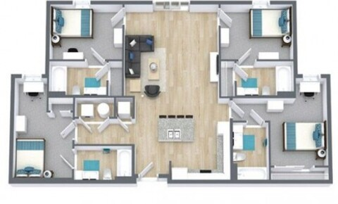 Apartments Near UT Austin 1 or 2 bedrooms at Nine at Rio for University of Texas - Austin Students in Austin, TX