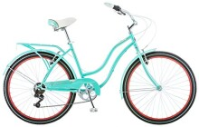 "Schwinn Ladies Perla 7 Speed Cruiser Bicycle 26"" Wheels"