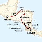 Volcano Adventure – San Josй to Antigua