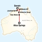 Alice Springs to Kakadu